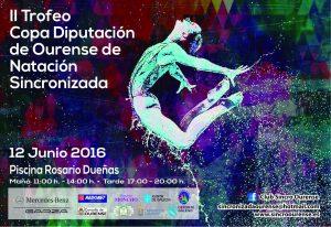 II Trofeo Ourense natación sincronizada