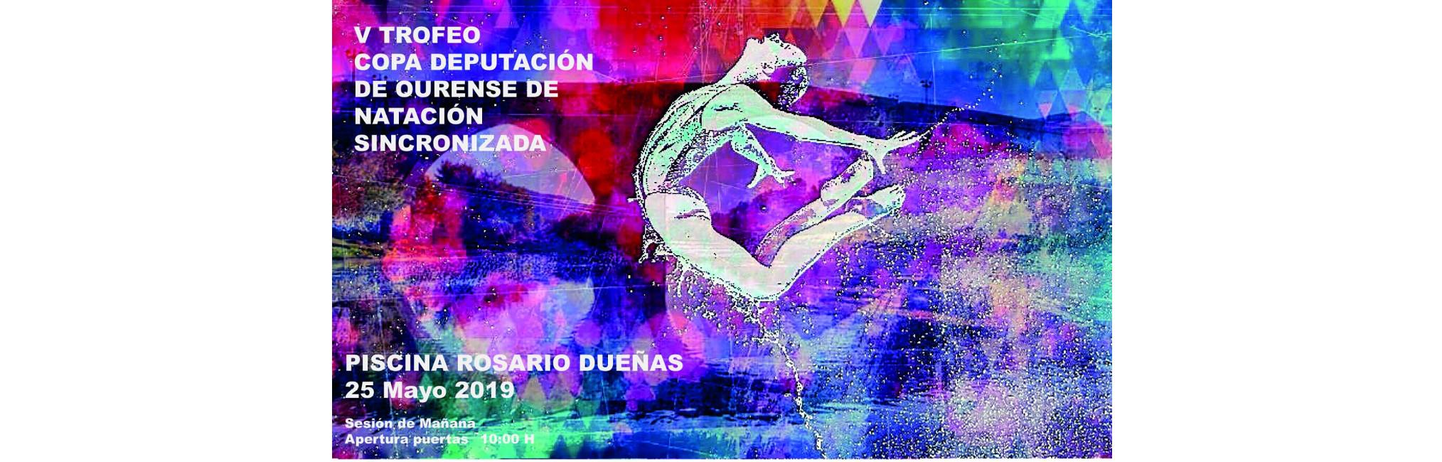 Cartel Trofeo Deputación Ourense 2019